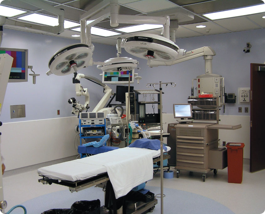 Stamford Hospital Operating Rooms A P Construction