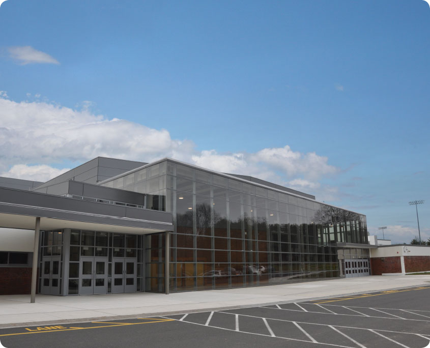 Trumbull High School A P Construction