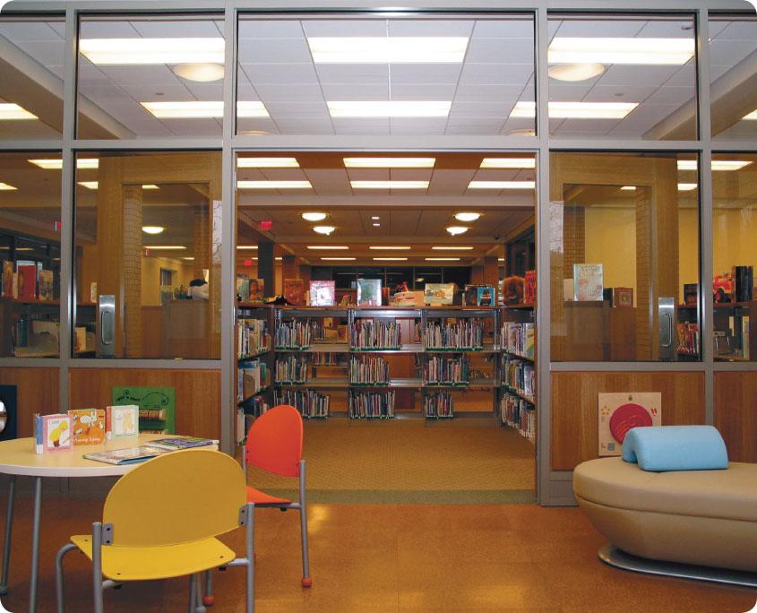 Darien Library – A P  Construction
