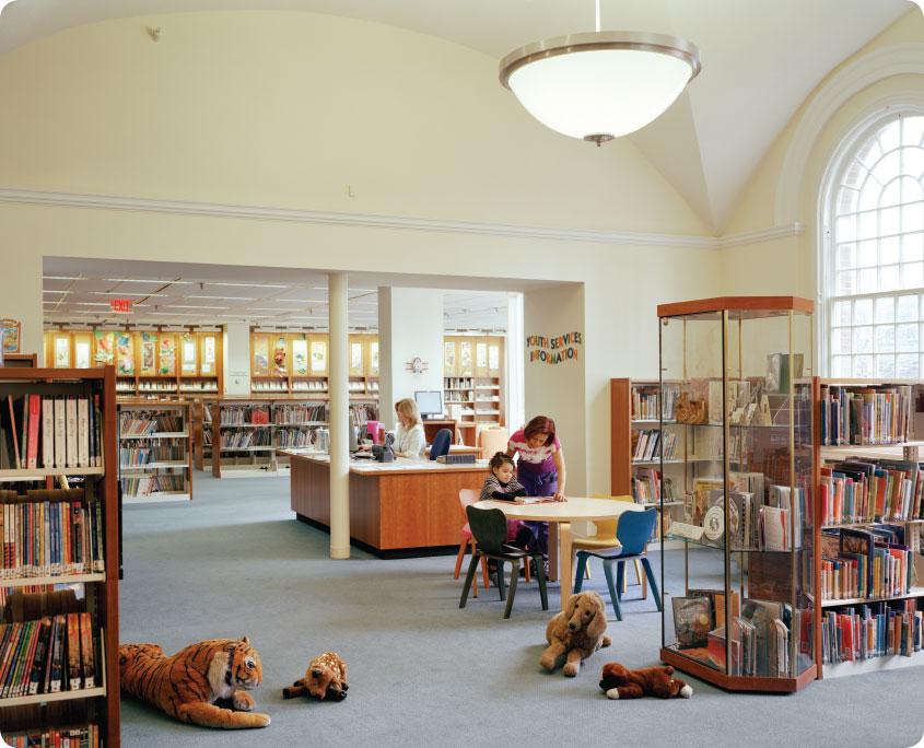 Ferguson Library – A P  Construction