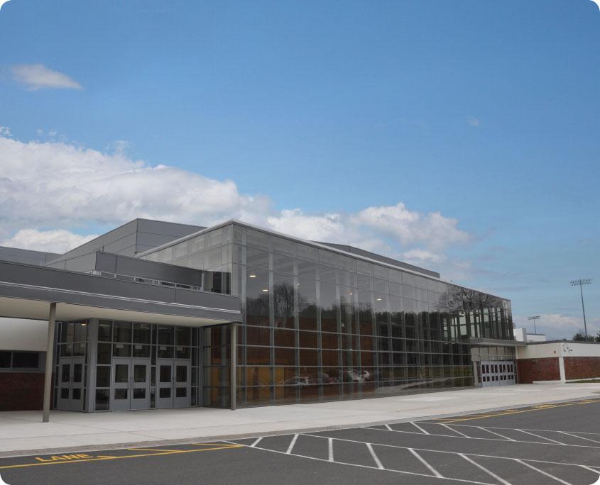 Trumbull High School A P Construction