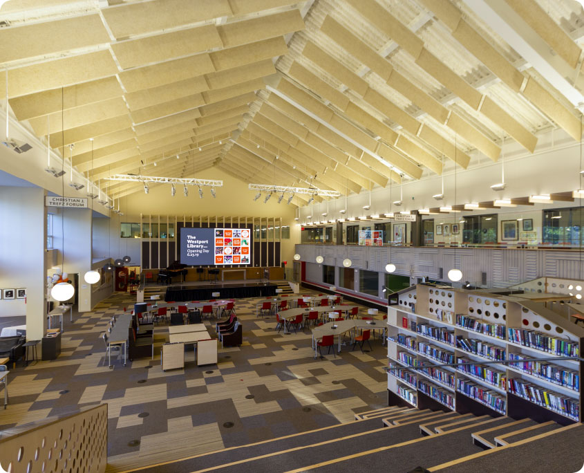 Westport Library – A P  Construction